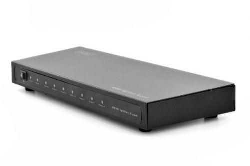 DIGITUS DS-43302 Splitter HDMI 8-port, 1920x1080p FHD 3D, HDCP1.2