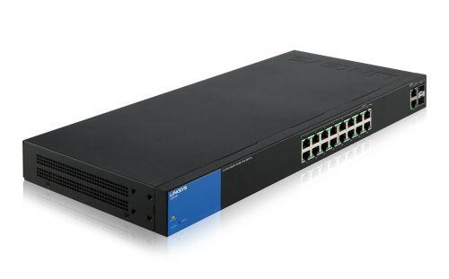 Linksys SMB switch Smart LGS318P 18-port Gigabit s POE+