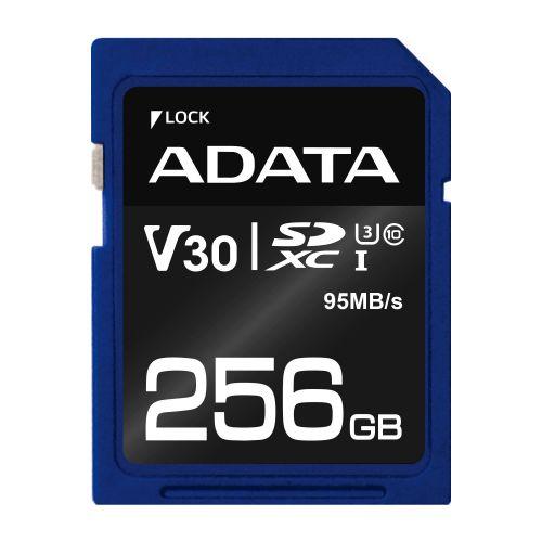 ADATA SDXC 256GB UHS-I U3 V30S