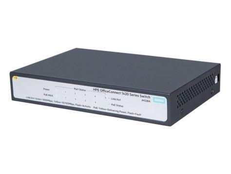 HP Enterprise HPE 1420 5G PoE+ (32W) Switch