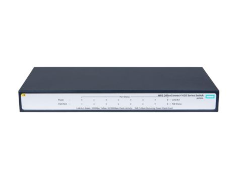 HP Enterprise HPE 1420 8G PoE+ (64W) Switch