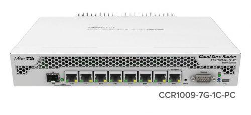 MikroTik Cloud Core Router, CCR1009-7G-1C-PC