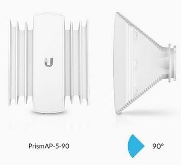 UBIQUITI NETWORKS UBNT PrismAP-5-90,Sektorová 5GHz anténa