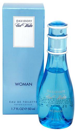 DAVIDOFF Cool Water Woman toaletní voda 100 ml
