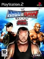 THQ WWE SmackDown! vs. RAW 2008 pro PS2