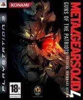 KONAMI Metal Gear Solid 4: Guns of the Patriots pro PS3