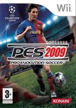 KONAMI Pro Evolution Soccer 2009 pro Nintendo Wii