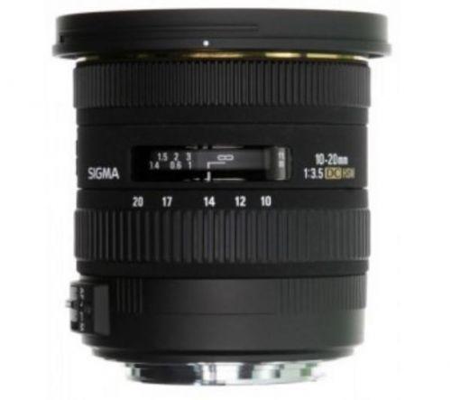 SIGMA Objektív 10-20mm f/3,5 EX DC HSM pre Nikon pre v'etky digitálne zrkadlovky Nikon série D, maximálna veľkost snímaca : APS-C