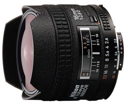 Nikon 16mm F2.8 AF Nikkor D A