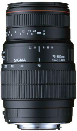 Sigma AF 70-300 4-5,6 DG Macro