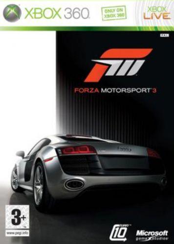MICROSOFT Forza Motorsport 3 pro XBOX 360