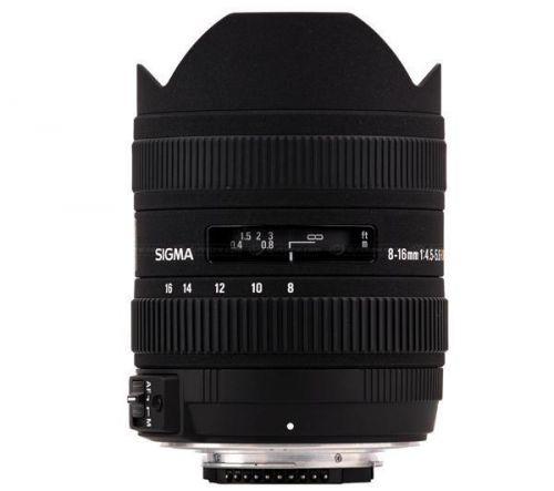 SIGMA 8-16 mm f/4,5-5,6 DC HSM pro Sony SLR