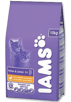IAMS Kitten rich in Chicken 10 kg