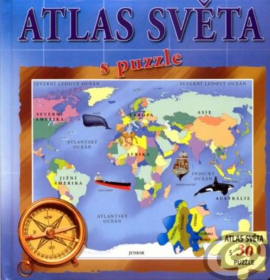 Atlas světa s puzzle cena od 0,00 €