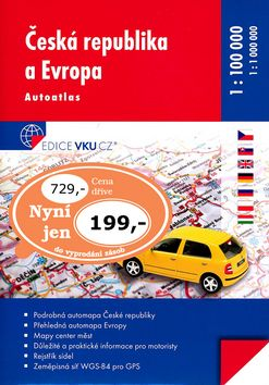 Autoatlas Česká republika Praha a okolí cena od 0,00 €