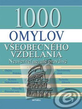 1000 omylov všeobecného vzdelania cena od 10,54 €