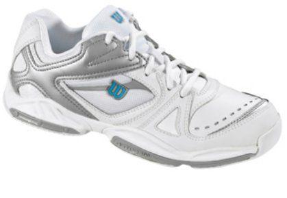 WILSON Court Challenge 700 Lady Bílá/stříbrná/modrá 4,0