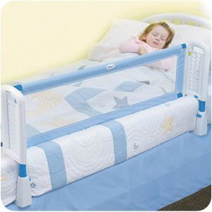 Safety 1st zábrana na postel - světle modrá
