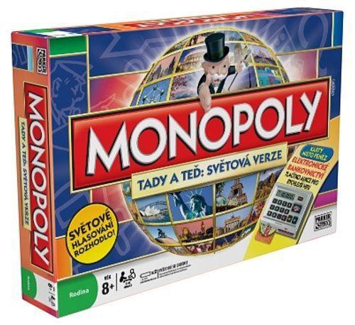 HASBRO Monopoly - světová edice