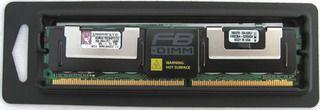 2GB DDR2 667MHz ECC Fully Buffered DIMM CL5 Dual Rank x8 KINGSTON BOX cena od 0,00 €