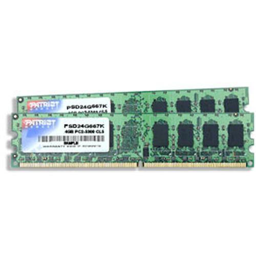 PATRIOT 4GB KIT DDR2 800MHz CL6 Signature Line
