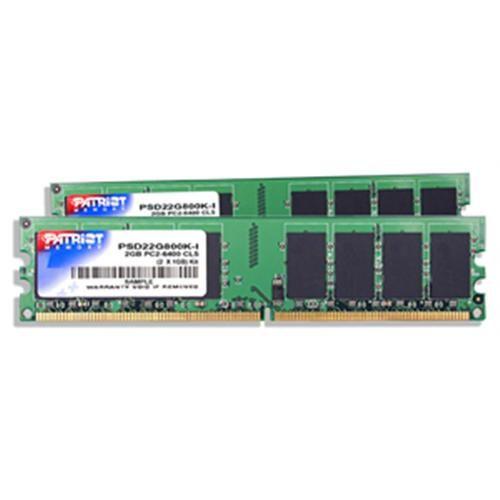 PATRIOT 2GB DDR2 800MHz CL6 Signature Line