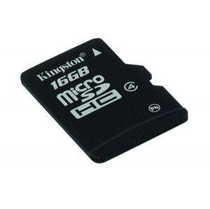 Kingston Micro Secure Digital (class 4) 16GB single pack - SDC4/16GBSP