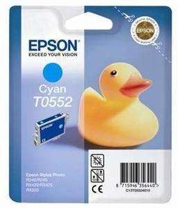 Atrament Epson T0552 cyan   Stylus Photo R240/245,RX420/425/520 cena od 14,87 €