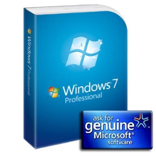 Microsoft OEM GGK Win Pro 7 SP1 32-bit/x64 Eng (legalizace) DVD - 6PC-00020