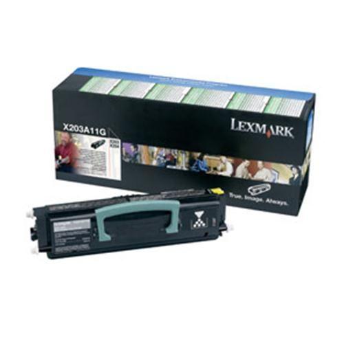 LEXMARK X203 černá toner pro X203, X204n, 0X203A11G