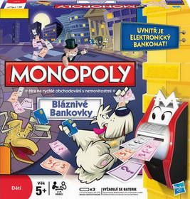 HASBRO Monopoly Bláznivá kasička