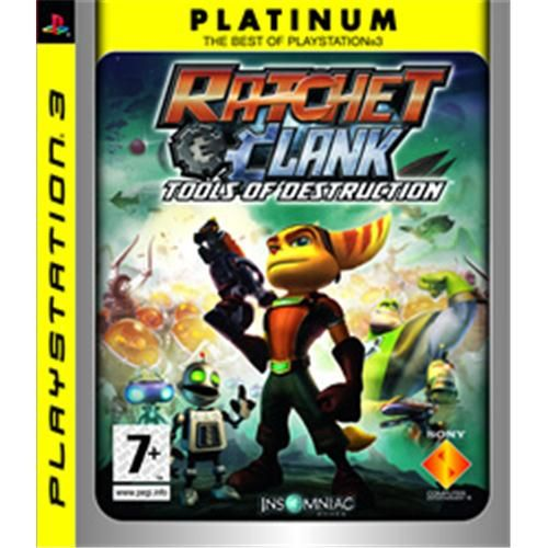 SONY PS3 Ratchet and Clank Tools of Destruction Plati