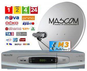 Mascom MC1101S/80M3 stříbrná