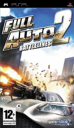 SEGA PSP Full Auto 2: Battlelines