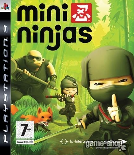 EIDOS PS3 Mini Ninjas