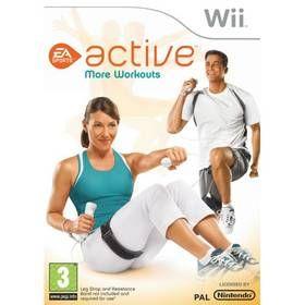 EAGAMES Nintendo Wii EA Sports Active More Workouts