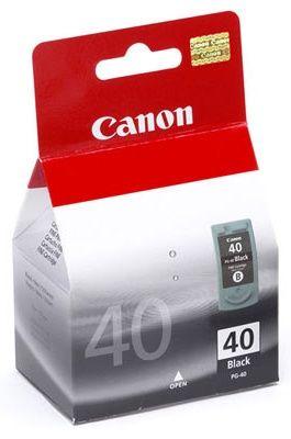 Nápln PG-40 - Cierna pre Canon PIXMA iP iP1200, iP1600, iP1800, iP2500, pre Canon PIXMA MP MP150, MP160, MP170, MP180, MP450