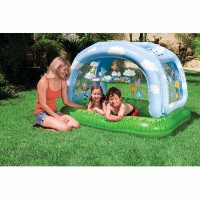 Intex Dětský bazén na pláž se střechou 163x112x102cm