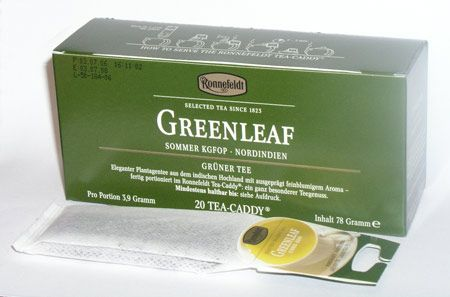 Ronnefeldt zelenáleaf Tea-Caddy cena od 0,00 €