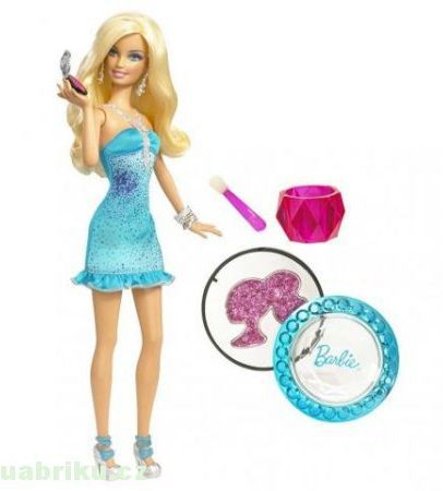 MATTEL Barbie Parádnice make up