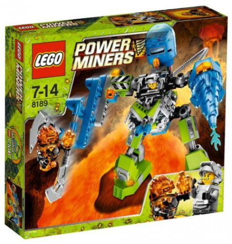 LEGO POWER MINERS 8189 Robot Magma