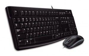 LOGITECH Desktop MK120, CZ , USB