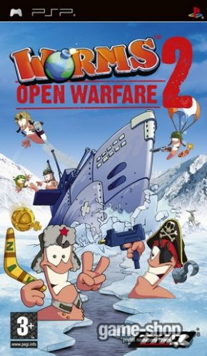 THQ Worms: Open Warfare 2 pro PSP