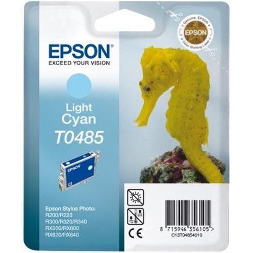 Atrament Epson T0485 light cyan Stylus Photo R200 220 300 320 340,RX500 600 64 cena od 0,00 €