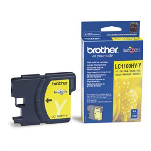 BROTHER Brother LC-1100HYY inkoust žlutá