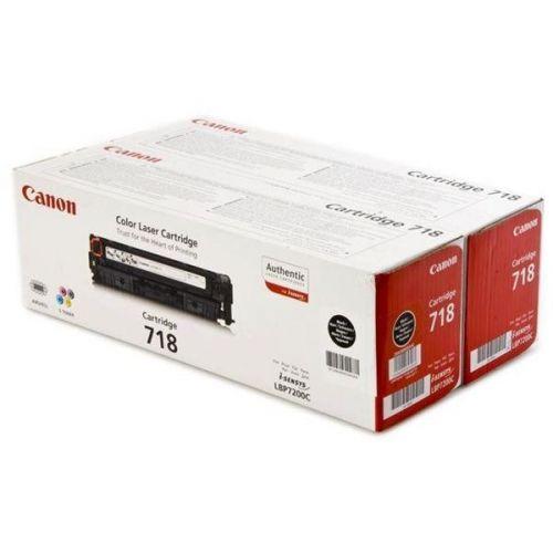 CANON 718bk pro LBP7200Cdn 2Pack