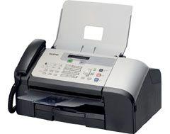 Brother 1360C mono s telefonem, mono kopírka