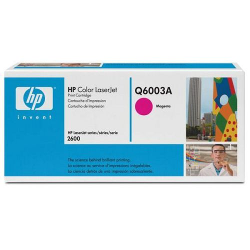 HP color laserjet purpurový toner, Q6003A