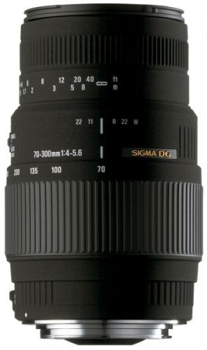 Sigma 70-300 mm F 4,0-5,6 DG MACRO pro SONY