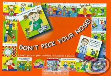 4bambini Don't pick your nose! A Game Of Good Manners cena od 0,00 €